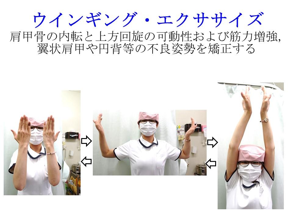 首の筋トレ:ウインギング・エクササイズ